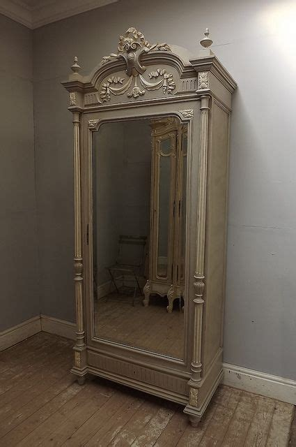 antique french armoire uk antique french louis xvi single door armoire shabby chic