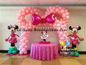 minnie decorations decorations miami balloon sculptures