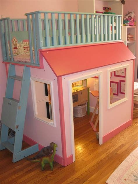 Toddler Bedroom With Play Area Best 25 Playhouse Bed Ideas On Kura Bed Kura