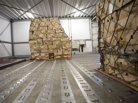 air freight loading and unloading systems for the air freight at ancra systems