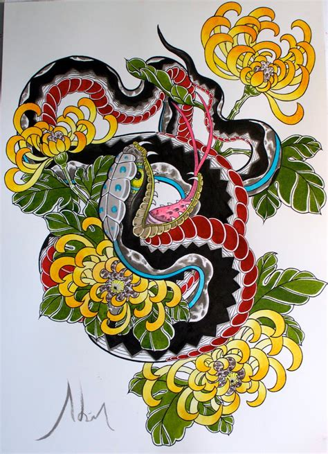japanese snake tattoo designs 1000 images about snakes on