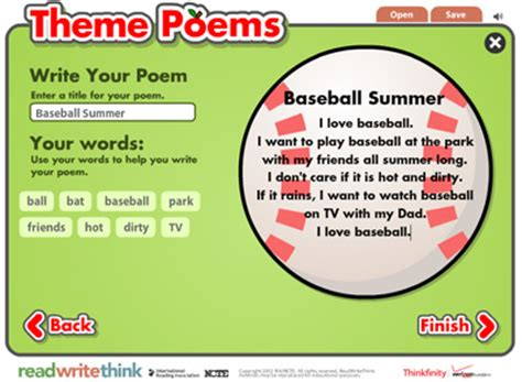 theme list for poems theme poetry digital teaching resource folder