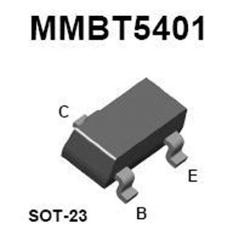 high voltage pnp bipolar transistor mmbt5401 smt pnp high voltage transistor nightfire electronics llc