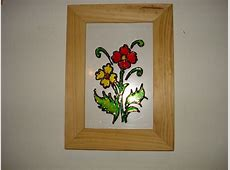 some easy crafts... Easy Flower Designs For Glass Painting