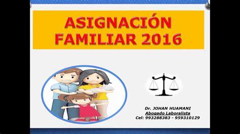 cuando aumentan las asignaciones familiar 2016 cuando aumenta la asignacion familiar 2015 aumento