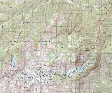 enchantments trail map the enchantments trail washington alltrails