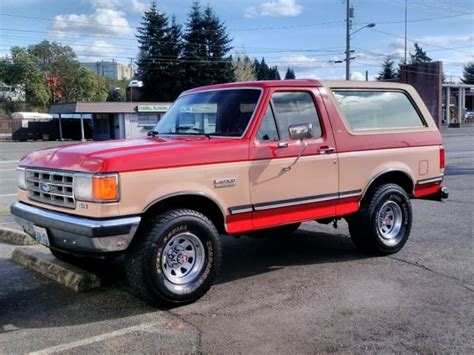 how cars run 1988 ford bronco transmission control 1988 ford bronco xlt eddie bauer edition excellent condition 100 rust free 5 8l