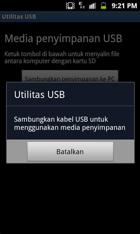 Usb Untuk Hp Android cara mengkoneksikan android ke pc tanpa kies budiaxe