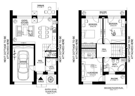 modern style house plan 3 beds 1 5 baths 1000 sq ft plan