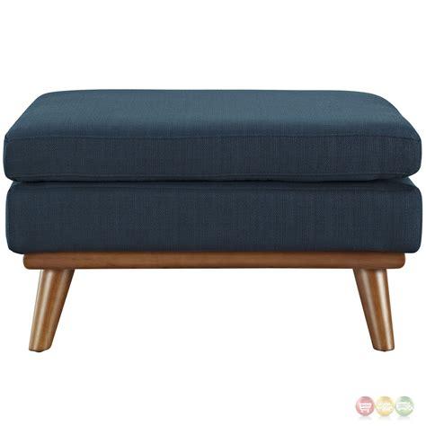 corner ottoman engage modern button tufted upholstered corner ottoman azure