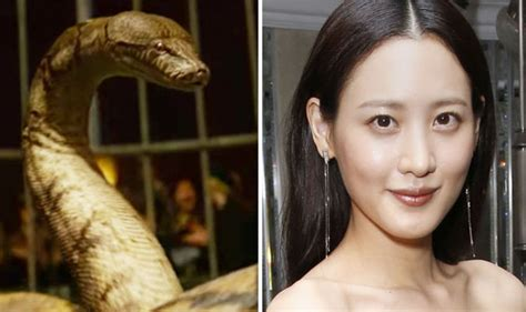 actress in fantastic beasts 2 fantastic beasts 2 nagini revealed actress teases