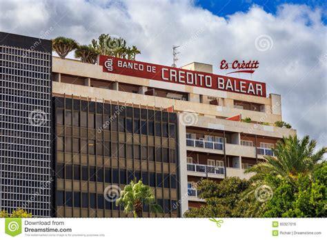 banco de credito balear oficinas banco credito balear palma mallorca dinero hoy