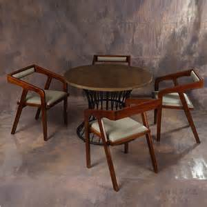 Unique Kitchen Tables And Chairs Custom Dining Tables And Chairs Combination Of Solid Wood Dining Table And Four Chairs