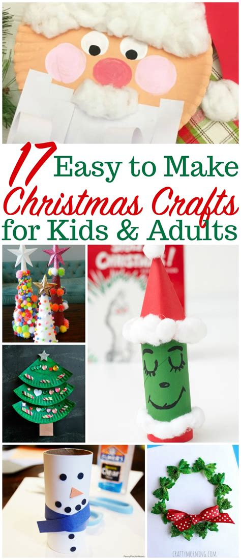 christmas crafts adult easy crafts for and adults to create