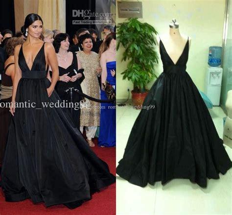 Gamis V Neck Cewekwanita 4 camila alves 2011 oscar v neck carpet dress gown
