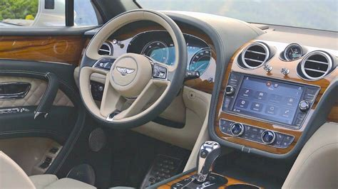 2017 bentley bentayga interior bentley bentayga 2017 interior youtube