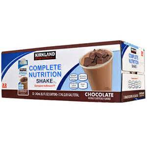 Complete Nutrition Kirkland Signature Complete Nutrition Shakes 32 Pack 8 2