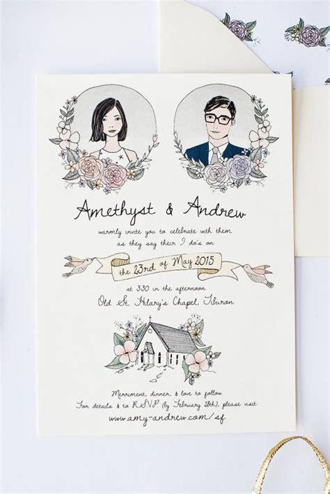 Undangan Pernikahan Vintage 4 undangan pernikahan vintage nikahnya