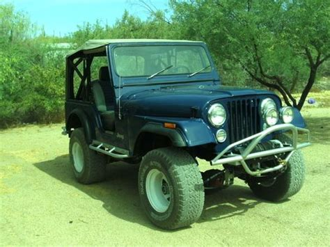 Ramsey Jeep Sell Used 1971 Lifted Jeep Cj5 With Ramsey 8000 Lb Winch