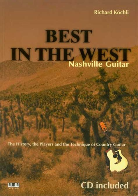 libro in the country of best nashville guitar richard kochli cd libro tablature chitarra country manuale completo