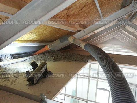 coibentazione interna soffitto coibentazione vecchio canapificio a treviso