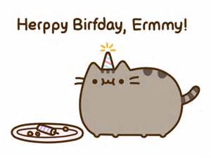 pusheen the cat on twitter quot happy birthday emmycic