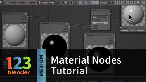 tutorial blender nodes blender material nodes tutorial youtube