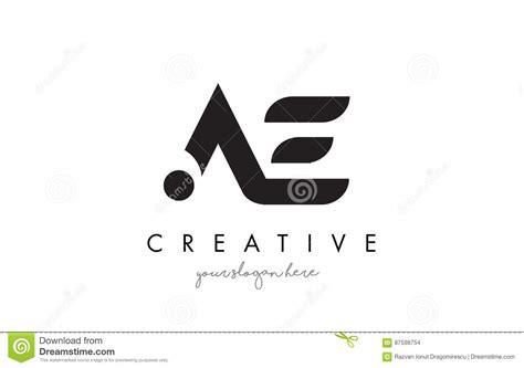 ae logo templates ae letter logo design with creative modern trendy