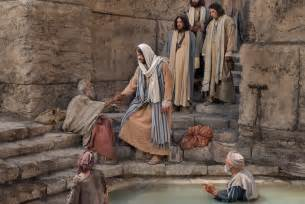 Jesus Gives Sight To The Blind Christ Healing At Bethesda