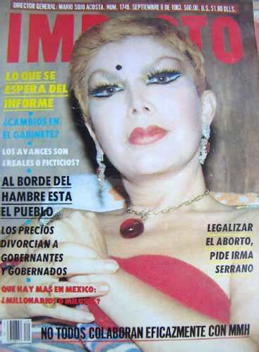 el antes y despues de irma serrano biografia fotos y revista impacto irma serrano en portada u s 21 60 en