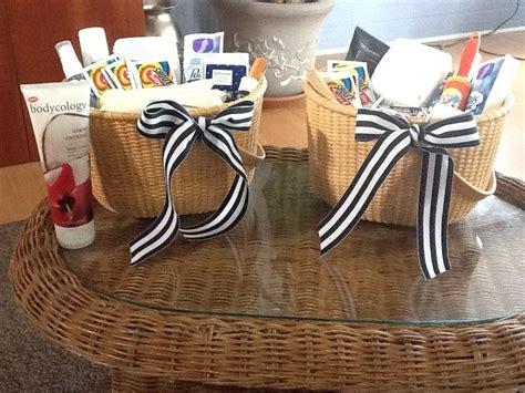 bathroom amenity baskets nantucket rounds wedding bathroom baskets hospitality