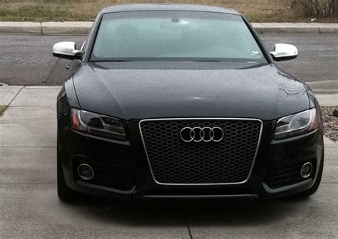 Audi A5 Grill by Rs5 Grille Gun Metal Or Black On A Black S5