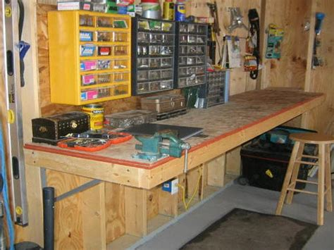 garage workshop layout tips garage workshop plans and tools diy pinterest
