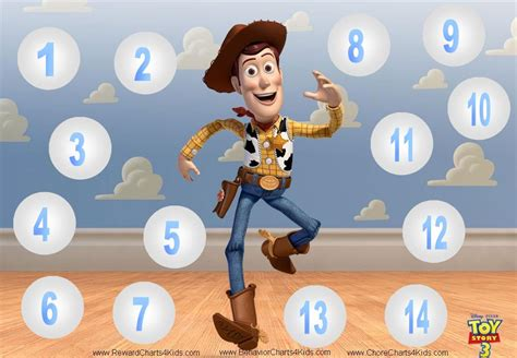 printable reward charts toy story 10 best images of toy story reward chart preschool