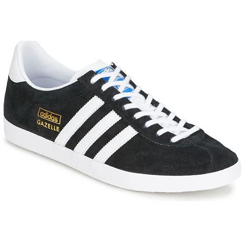 Adidas Original Gazelle adidas originals gazelle og noir blanc or chaussures
