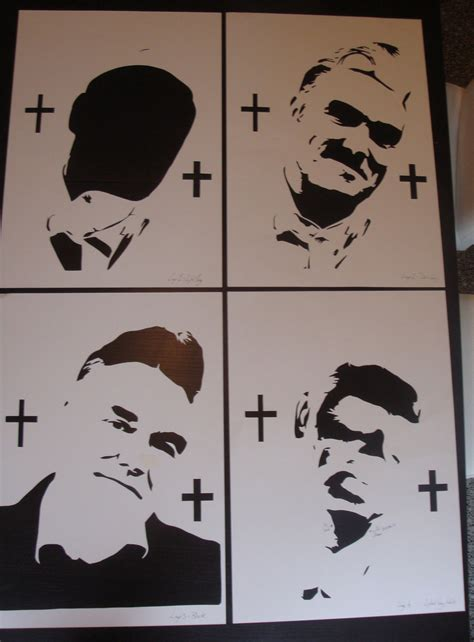 stencils for spray paint morrissey stencils ready for spray paint by ramart79 on
