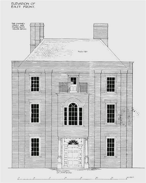 plate 5 tudor house elevations history