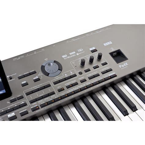 Keyboard Musik Korg korg pa4x musikant 76 171 keyboard