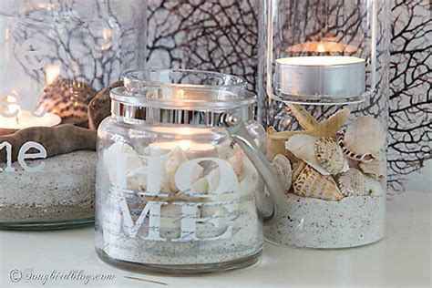 In A Bottle Seashells Sands Home Decor shut the front door these sand decorating techniques are