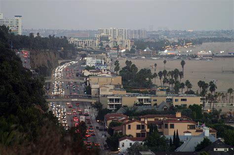 Pch Traffic Santa Monica - los angeles california usa usa hey brian