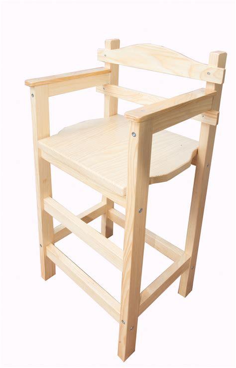 chaise haute enfant bois chaise haute enfant sagard en bois vernie meubles et