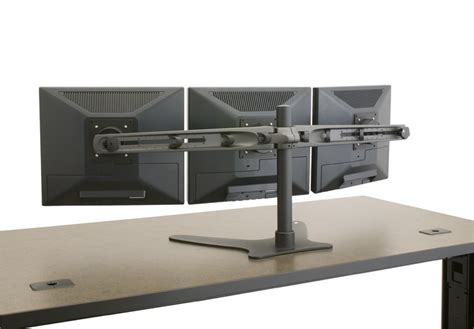 triple monitor desk mount triple monitor stand multiple monitor stand triple
