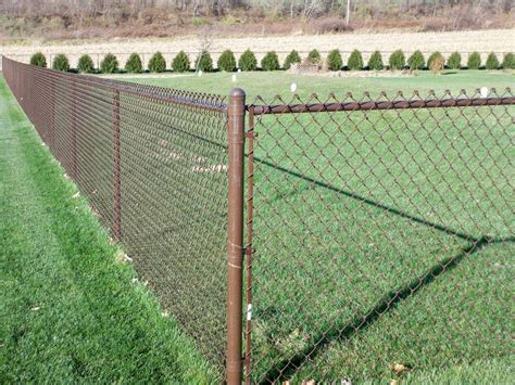 chain link fence post more beautiful with chain link fence post caps fence ideas