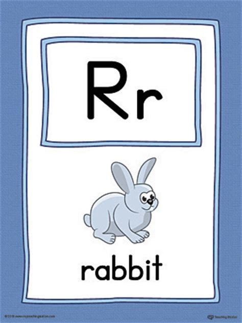 printable alphabet playing cards letter r uppercase and lowercase matching worksheet color