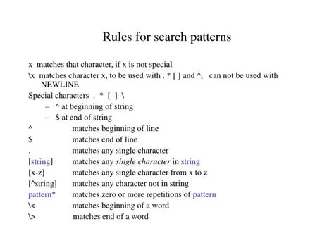 search pattern slide rule ppt quotes single vs double vs grave accent