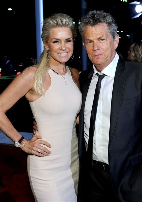 david and yolanda foster mystery blonde pictured with yolanda and david foster wedding youtube 13 photos of