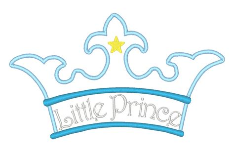 Home Decor Fall Design Packages Little Prince Applique Crown