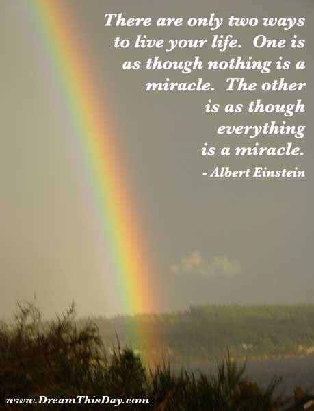 Where Can I The Miracle For Free Daily Inspiration Daily Quotes Everything Is A Miracle
