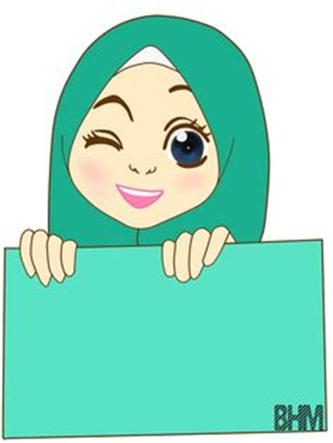 freebies doodle muslimah chibi drawings muslim characters muslim and