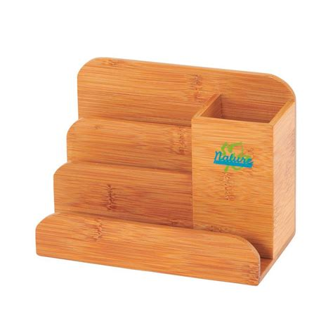 Bamboo Desk Organizer Buddy Products Bamboo Desk Organizer Bb 024 The Home Depot